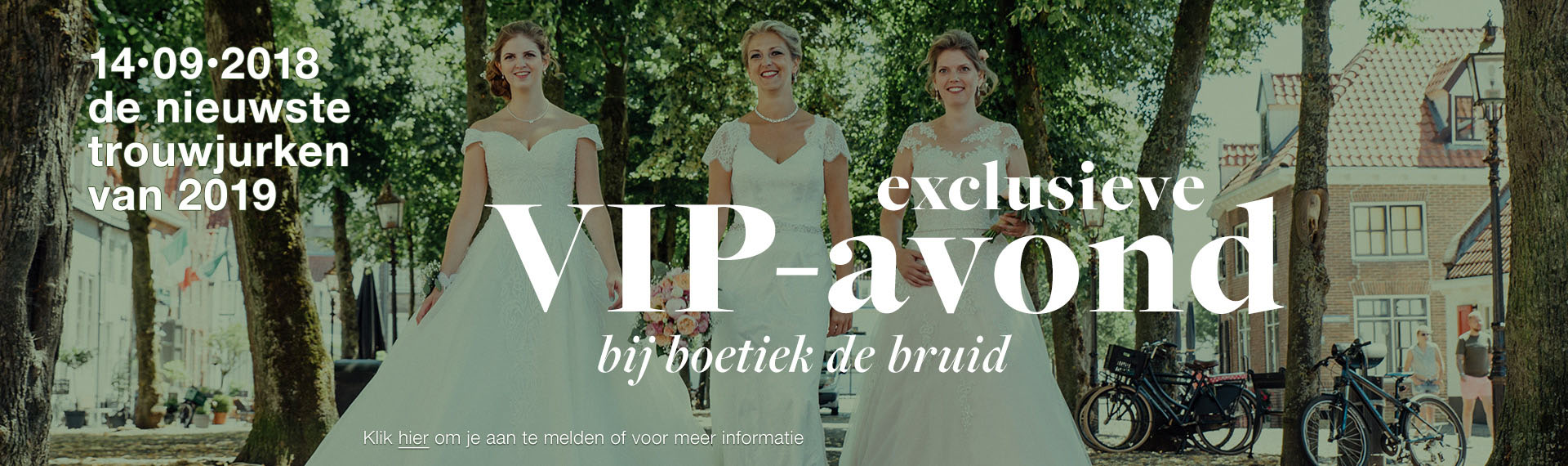 VIP-avond boetiek de bruid