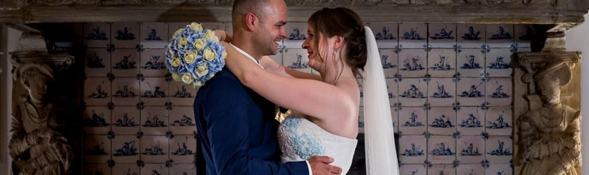 Een unieke ervaring én een unieke bruidsjurk